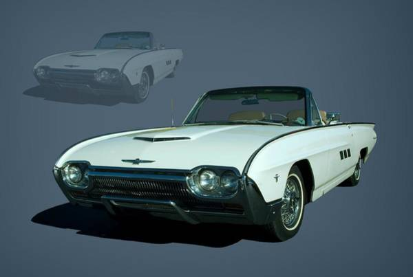 Photograph - 1963 Ford Thunderbird Convertible by Tim McCullough