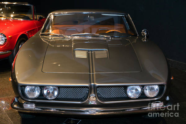 Photograph - 1963 Iso Grifo A3l Prototype Dsc2626 by Wingsdomain Art and Photography