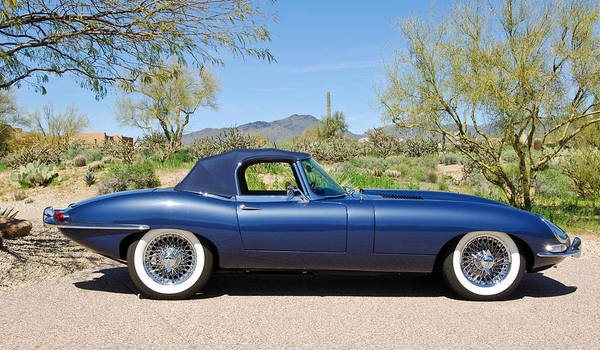Photograph - 1963 Jaguar Xke Roadster by Jill Reger
