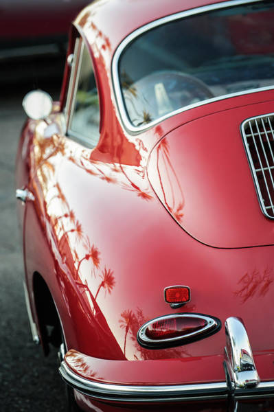 Photograph - 1963 Porsche 356b S Coupe Taillight -1241c by Jill Reger