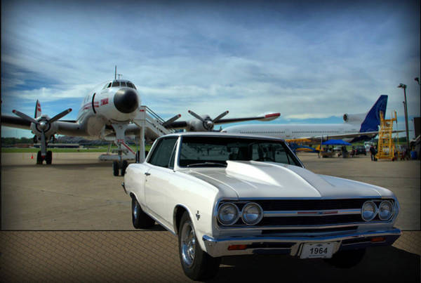 Photograph - 1964 Chevelle Ss 327 by Tim McCullough