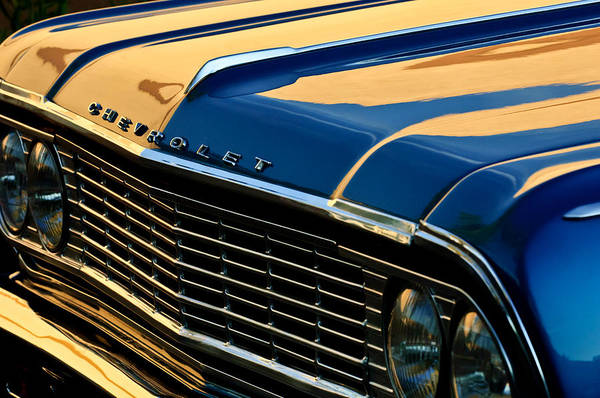 Grilles Photograph - 1964 Chevrolet Chevelle Grille by Jill Reger