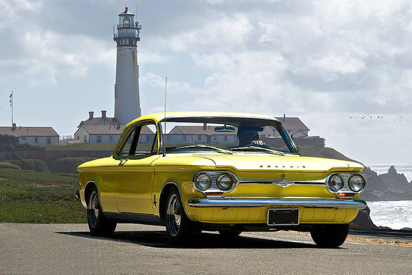 Corvair Photograph - 1964 Chevrolet Corvair I by Dave Koontz