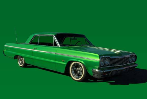 Photograph - 1964 Chevrolet Impala by Tim McCullough