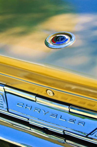 Photograph - 1964 Chrysler 300k Convertible Emblem -3529c by Jill Reger