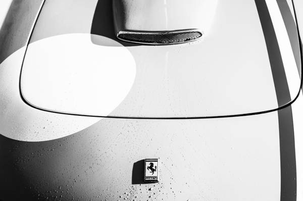 Photograph - 1964 Ferrari 250 Gt Lusso -0069bw by Jill Reger