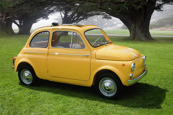 Sport Car Photograph - 1964 Fiat 500d by Car Culture