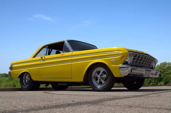 Photograph - 1964 Ford Falcon Dragster by Tim McCullough