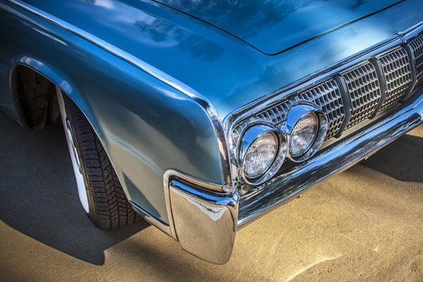 V8 Engine Wall Art - Photograph - 1964 Lincoln Continental Convertible  by Rich Franco