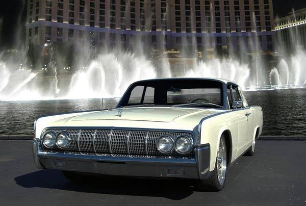 1964 Lincoln Continental Art Print