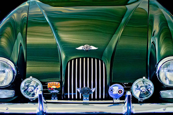 Photograph - 1964 Morgan Plus 4 Coupe by Jill Reger