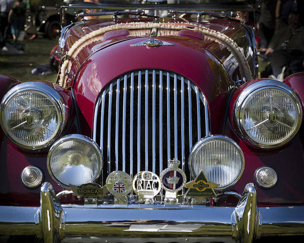 Photograph - 1964 Morgan Plus 4 Four Seat Roadster by Jack R Perry