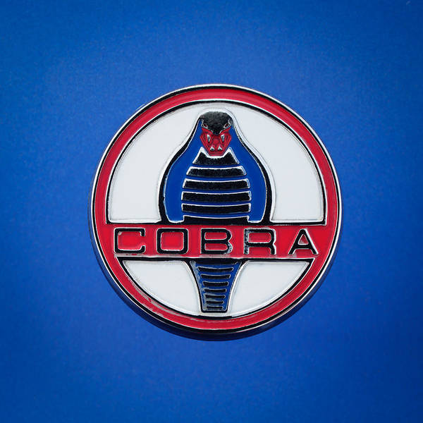 Photograph - 1964 Shelby Cobra 289 Emblem by Jill Reger