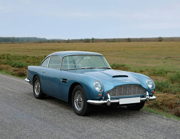 Motoring Photograph - 1965 Aston Martin Db5 Gt Vantage by Panoramic Images