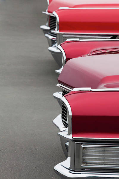 1965 Cadillac Deville Convertible Coupe Art Print by Car Culture