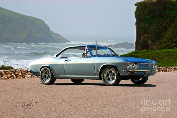 Corvair Photograph - 1965 Chevrolet Corvair by Dave Koontz