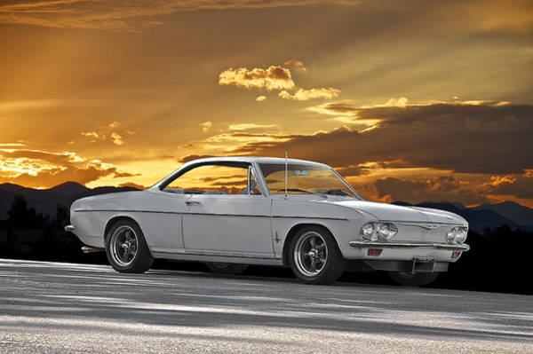 Corvair Photograph - 1965 Chevrolet Corvair II by Dave Koontz