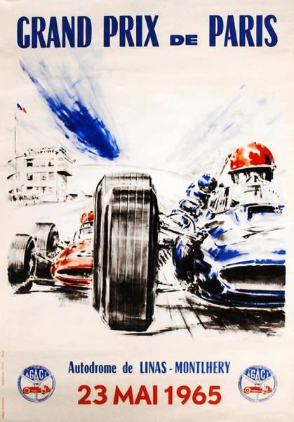 Wall Art - Digital Art - 1965 Grand Prix De Paris by Georgia Fowler