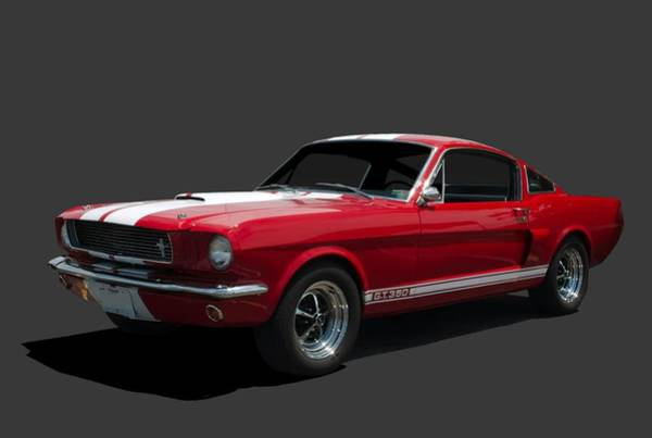 Photograph - 1966 Mustang Fastback Gt 350 by Tim McCullough
