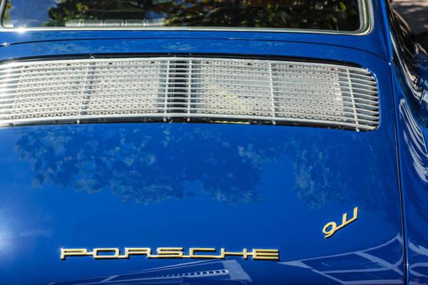 1965 Porsche 911 2.0 Coupe Rear Emblem -0316c Art Print