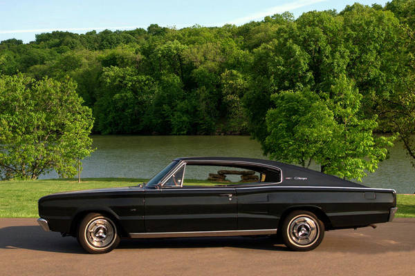 Photograph - 1966 Dodge Charger by Tim McCullough