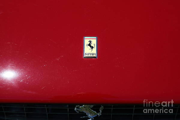 Photograph - 1966 Ferrari 365 Spyder Convertible 5d22993 by Wingsdomain Art and Photography