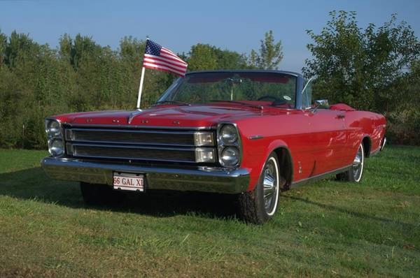 Photograph - 1966 Ford Galaxie Xl Convertible by Tim McCullough