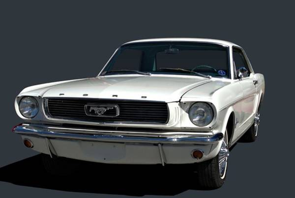 Photograph - 1966 Mustang by Tim McCullough