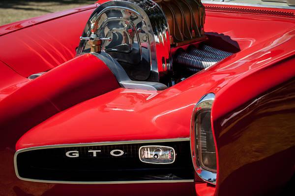 Photograph - 1966 Pontiac Gto Monkeemobile Replica -3510c by Jill Reger