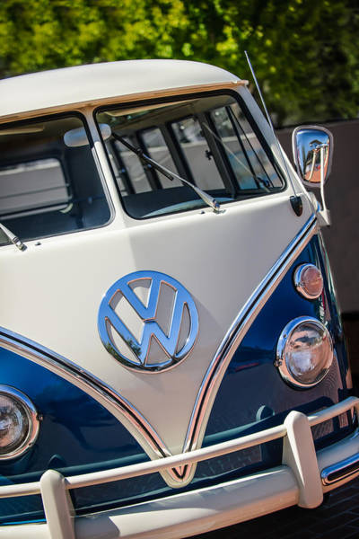 Photograph - 1966 Volkswagen Micro Bus -1012c by Jill Reger