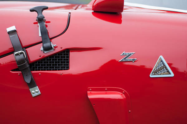 Photograph - 1967 Alfa Romeo Tz2 Zagato Coupe Side Emblems by Jill Reger