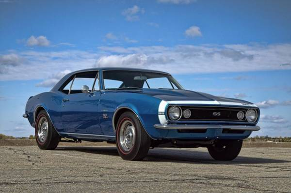 Photograph - 1967 Camaro Ss by Tim McCullough