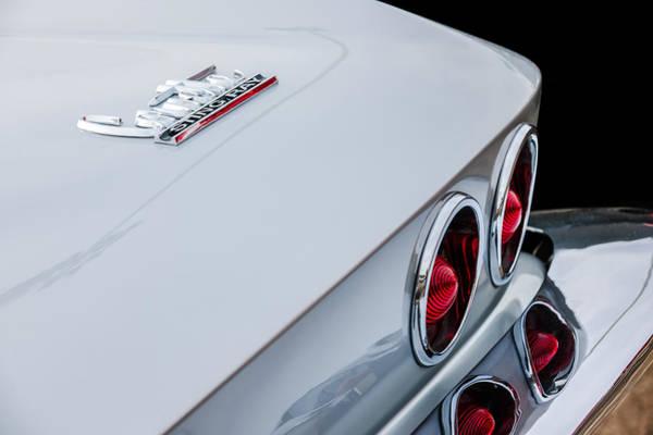 Coupe Photograph - 1967 Chevrolet Corvette Coupe Taillight Emblem by Jill Reger