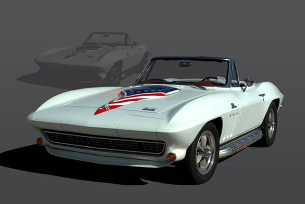 Photograph - 1967 Chevrolet Corvette Stingray Convertible by Tim McCullough
