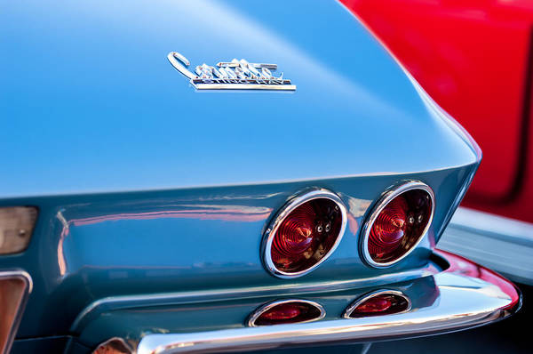 Photograph - 1967 Chevrolet Corvette Taillights by Jill Reger