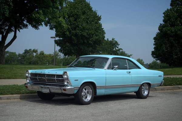 Photograph - 1967 Ford Fairlane 500 by Tim McCullough