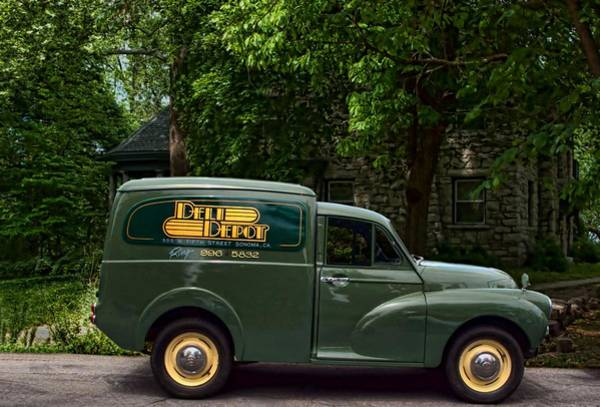 Photograph - 1967 Moris Delivery Truck by Tim McCullough