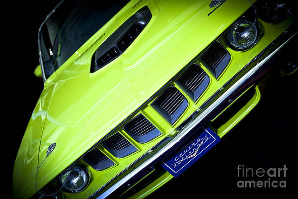 383 Photograph - 1967 Plymouth Barracuda 383 by Kamil Swiatek