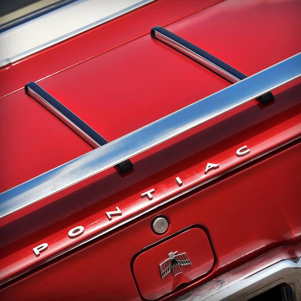 1969 Pontiac Firebird Photograph - 1967 Pontiac Firebird by Gordon Dean II