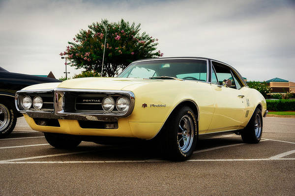 Car Show Photograph - 1967 Pontiac Firebird by Jon Woodhams