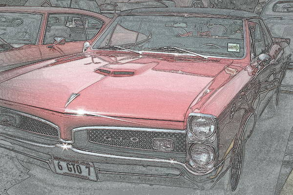 Photograph - 1967 Pontiac Gto by Kay Novy
