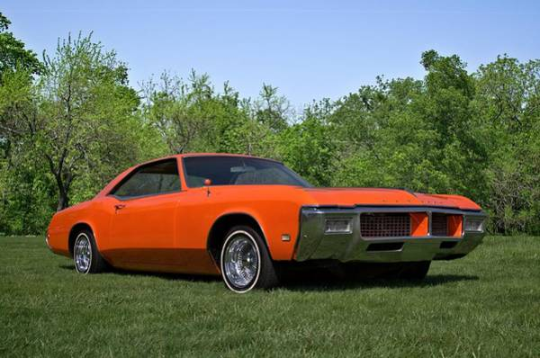 Photograph - 1968 Buick Riviera by Tim McCullough