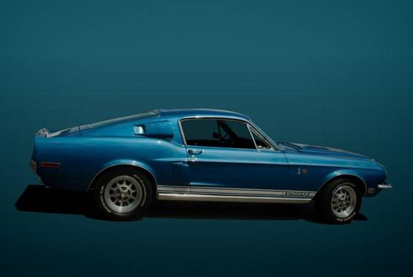 Photograph - 1968 Ford Mustang Shelby Cobra Gt500kr by Tim McCullough