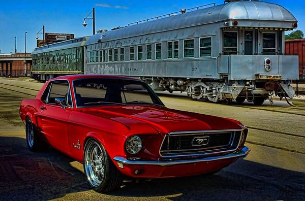 Photograph - 1968 Mustang by Tim McCullough