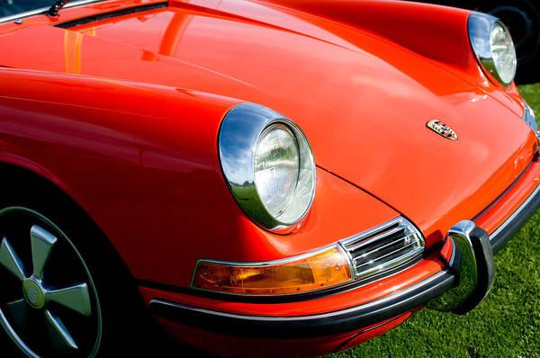 Photograph - 1968 Porsche 911 Front End by Jill Reger