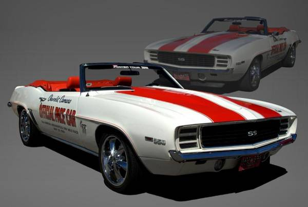 Photograph - 1969 Camaro Pace Car by Tim McCullough