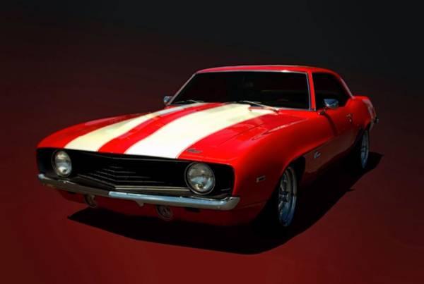 Photograph - 1969 Camaro  by Tim McCullough