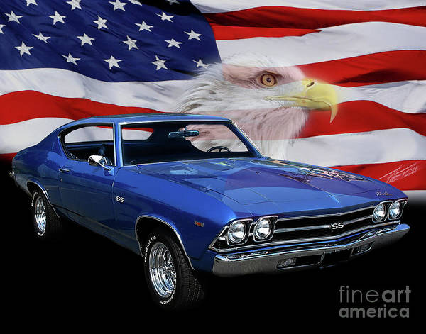 Car Show Photograph - 1969 Chevelle Tribute by Peter Piatt