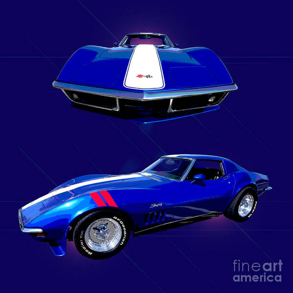 Wall Art - Photograph - 1969 Chevy Corvette by Jim Carrell