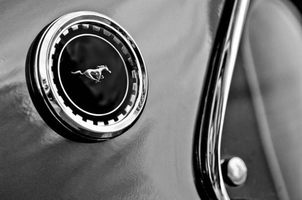 Photograph - 1969 Ford Mustang Mach 1 Side Emblem by Jill Reger